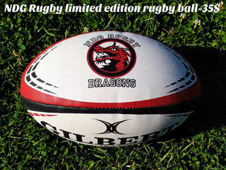 Club Rugby balls available for 35$
