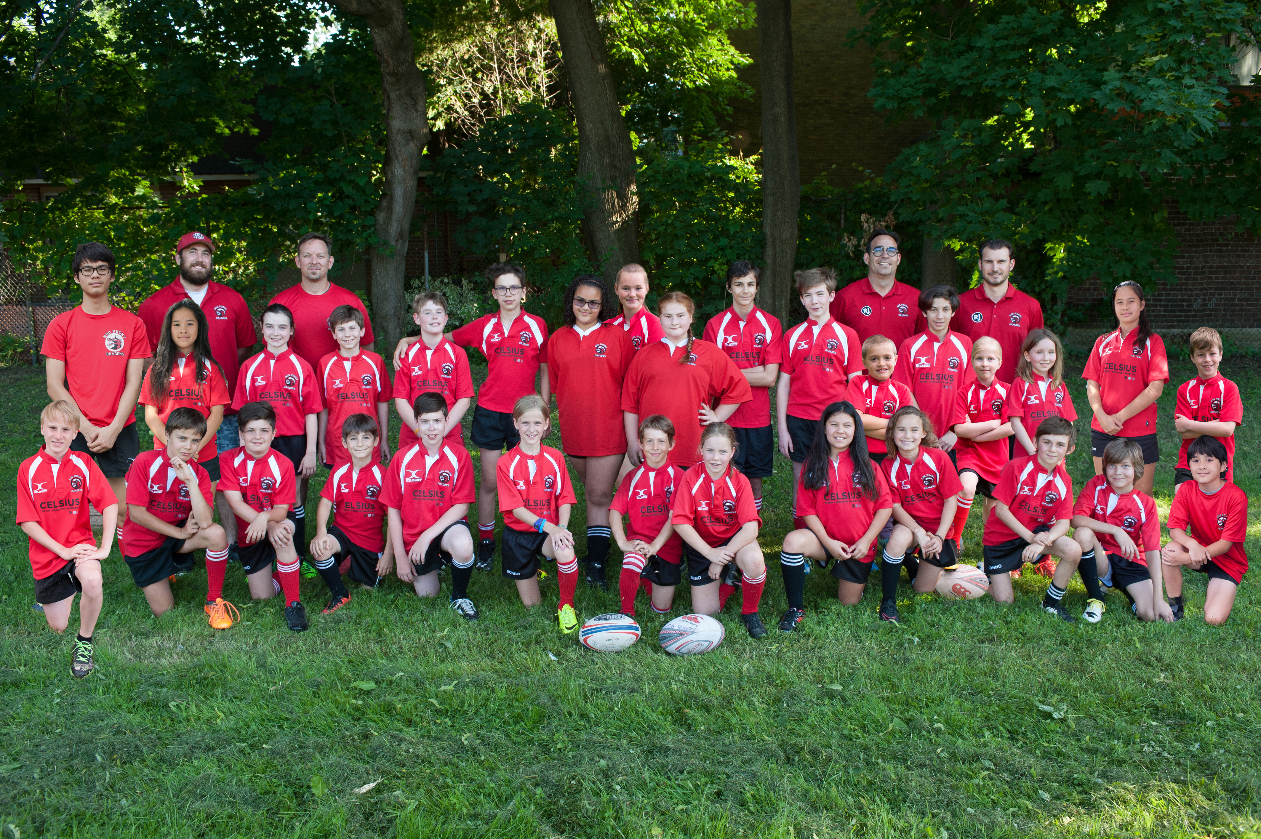 NDG DRAGONS Rugby 2017