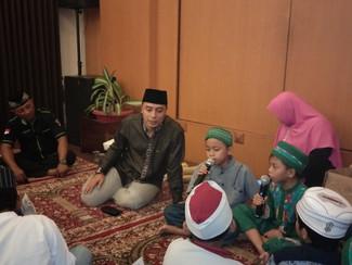 Eri Cahyadi: Anak-anak harus belajar berani kalau memang benar