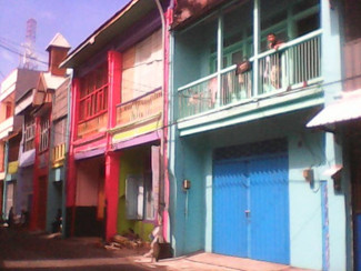Pengecatan bangunan di Jl.Panggung tak sesuai heritage