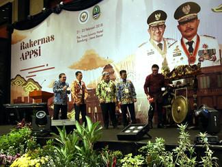Gubernur Jatim Hadiri Rakernas APPSI 2018 di Bandung