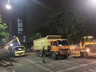 Kontraktor Janji 10 Hari Tuntaskan Normalisasi Jalan Gubeng