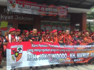 PP Jatim satu komando, anggota tak dukung Jokowi dicoret
