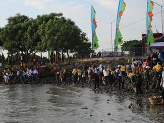 Sambut HUT Ke-74 RI, ribuan warga Surabaya akan kerja bakti massal