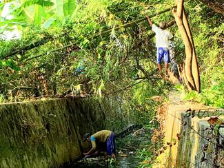 Kampanye bersih lingkungan, Warga Lidah Kulon dan Ciputra kerja bakti massal