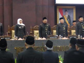 Peringati HUT Pemprov Jatim, Gubernur Khofifah ucapkan terima kasih pada Pakde Karwo serta mantan Gu