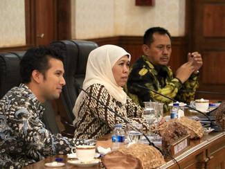Jatim akan ajak sinergi pemprop lain untuk bentuk holding Bank Pembangunan Daerah untuk atasi persai
