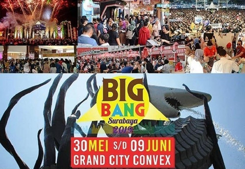 BIG BANG Surabaya 2019, dibuka Walikota Surabaya Tri Rismaharini