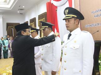 Warga Sampang dan Kota Probolinggo resmi memiliki Kepala Daerah Baru