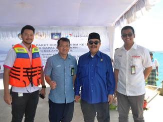 Lombok Bangkit, Pembagian Konkit LPG 3KG untuk Nelayan Lombok Tengah