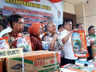 Polda Jatim ungkap penyelewengan benih jagung bersubsidi