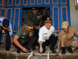Semangat Gotong Royong menjadi ruh dalam sinergitas Pemerintah dan TNI bersama rakyat