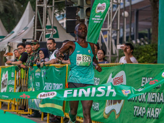 Pelari Kenya juara MILO Jakarta International 10K