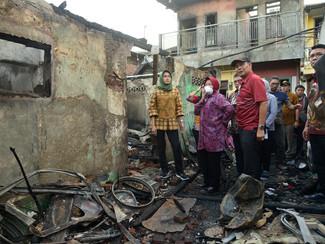 Warga korban kebakaran Margorukun akan menempati rusun