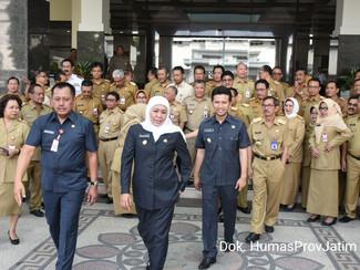 Gubernur Khofifah ajak OPD bangun sinergitas wujudkan Jatim Cettar
