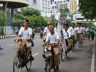 Ini rute baru Jambore Sepeda Tua ke 7 di Surabaya