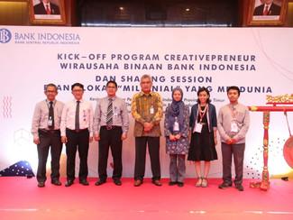 Bank Indonesia dan ITS Kembangkan Creativepreneur