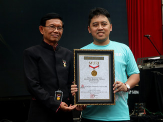 Semen Indonesia Trail Run 2018, Raih Rekor MURI Sebagai Lomba Lari Trail Pertama di Area Pascatamban
