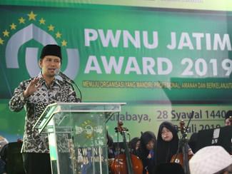 Ajang PWNU Jatim Award 2019 dinilai Wagub ajang melahirkan inovasi bagi kemajuan NU