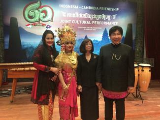 Misi Budaya Putra dan Cucu Bung Karno di Negeri Kamboja