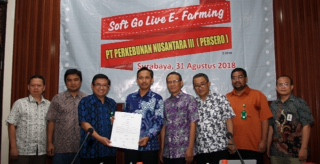 PTPN X jadi Role model penerapan e-Farming di seluruh PTPN gula