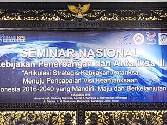 LAPAN Gelar Seminar Nasional Kebijakan Penerbangan dan Antariksa III