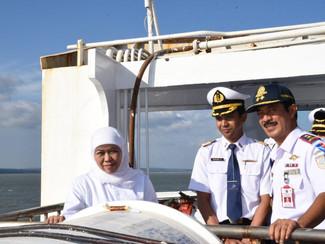 Gubernur Khofifah lepas 460 penumpang Mudik Gratis ke Pulau Masalembu