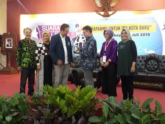 Akademisi Unitomo diajak diskusi Bappenas terkait pemindahan Ibukota ke Kalimantan