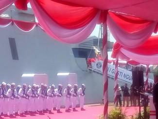 KRI I GUSTI NGURAH RAI 332 PERKUAT ARMADA PERANG TNI AL