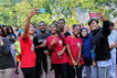 #SurabayaPapuaBersaudara di CFD Taman Bungkul