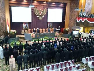 Gubernur berharap sinergitas DPRD dan Eksekutif perlu di tingkatkan untuk mewujudkan kesejahteraan m