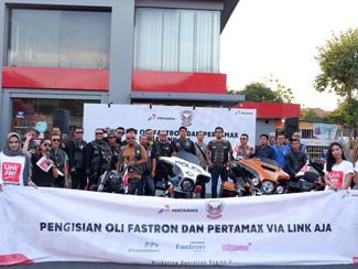 Pertamina gandeng Ikatan Sport Harley Davidson Indonesia edukasi masyarakat untuk gunakan BBM Non Su
