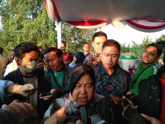 Pembangunan jalan arteri MERR Surabaya tuntas