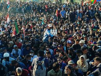 Ini alasan siswa SMA SMK ikut demo di DPRD Jatim