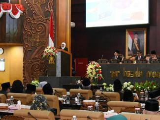 Gubernur Jatim Khofifah Indar Parawansa paparkan visi misi memimpin Jatim lima tahun kedepan