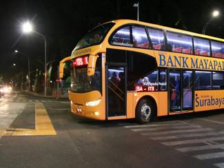 Bus tingkat khusus mahasiswa mulai diuji coba