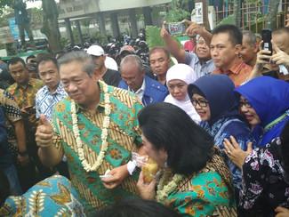SBY TITIP UMKM JATIM PADA KHOFIFAH PASCA KEPEMIMPINAN PAKDE KARWO