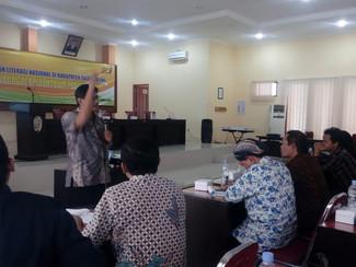 Balai Bahasa Jawa Timur gelar deseminasi Gerakan Literasi Nasional di Tulungagung