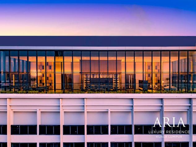 Aria Evening View