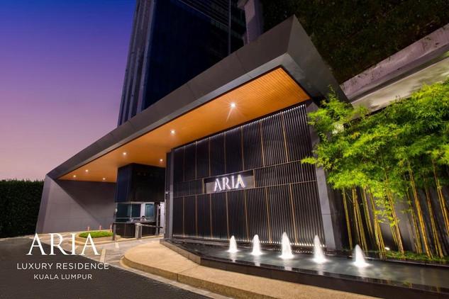 Aria Main Entrance