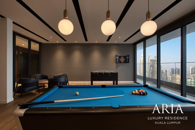 Aria Games Room