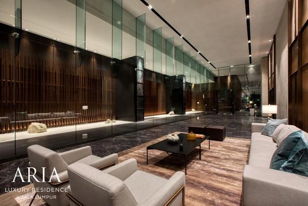 Aria Lift Lobby