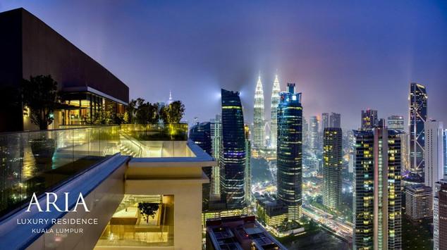 Aria Night View