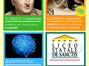 Open Day Liceo De Sanctis on line