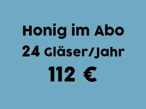 Honig-Abo: 24 Gläser / 1 Jahr