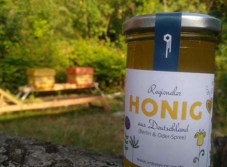 Regionaler Honig aus Woltersdorf und Oder-Spree