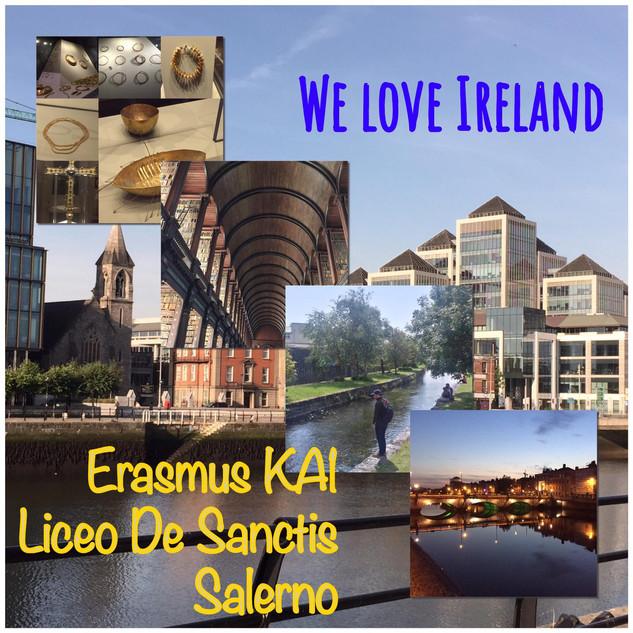 Erasmus KA01. Dublino 2019