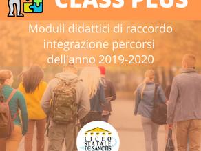 Scadenza iscrizioni lezioni di raccordo per Class Plus!