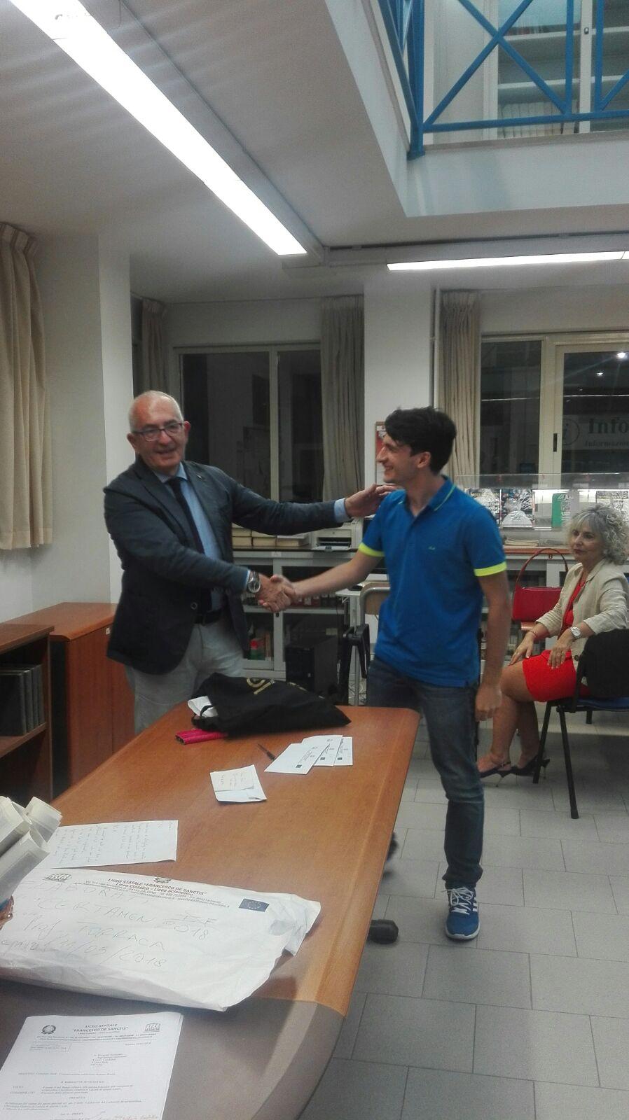 Premiazione V Certamen