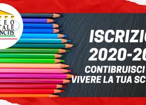 Iscrizioni anno scolastico 2020-2021